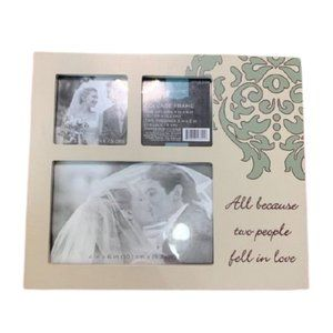 All Because Two People Fell in Love Collage Frame
